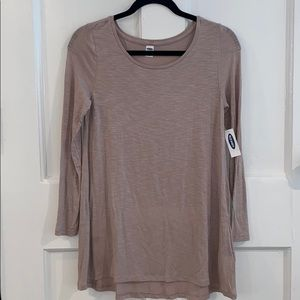 NWT Old Navy Luxe Long Sleeve Top Size XS